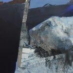 Horizonte 15-7 Pigmente, Sand, Acryl auf Leinwand 115 x 95 cm 2015