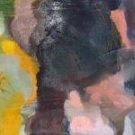 Passion - Farbe zwischen Finsternis und Licht 6 Pigmente, Acrylbinder auf Leinwand, 80 x 30 cm 2014