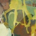 Passion - Farbe zwischen Finsternis und Licht 9 Pigmente, Acrylbinder auf Leinwand, 80 x 30 cm 2014