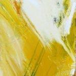 Schöpfung - Welt innen - Welt außen Licht Pigmente, Acryl, Öl auf Leinwand, 100 x 200 cm 2012
