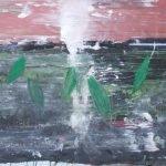 Schöpfung - Welt innen - Welt außen Mensch - Leiden des jungen Werther, Pigmente, Acryl, Öl auf Papier 100 x 70 cm 2012